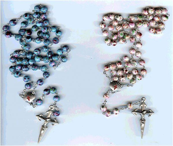 rosario de cristal pintado GR jacobeo
