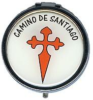 Pastillero con la Cruz de Santiago