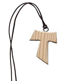 Tau Artesana en madera rústica