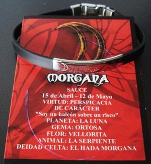Pulsera Morgana acero-láser