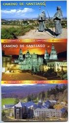 Conjunto de 12 postales desplegables