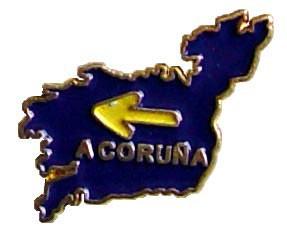 Pin mapa de La Coruña