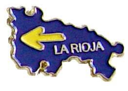 Pin mapa de La rioja