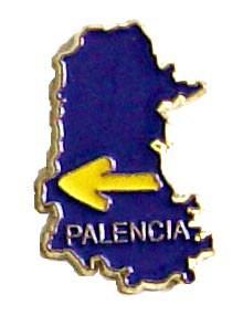 Pin mapa de Palencia
