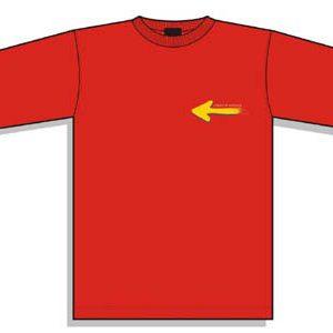 Camiseta Flecha pequeña