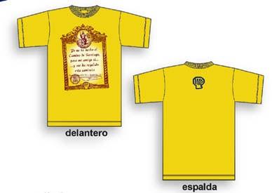 Camiseta Compostela