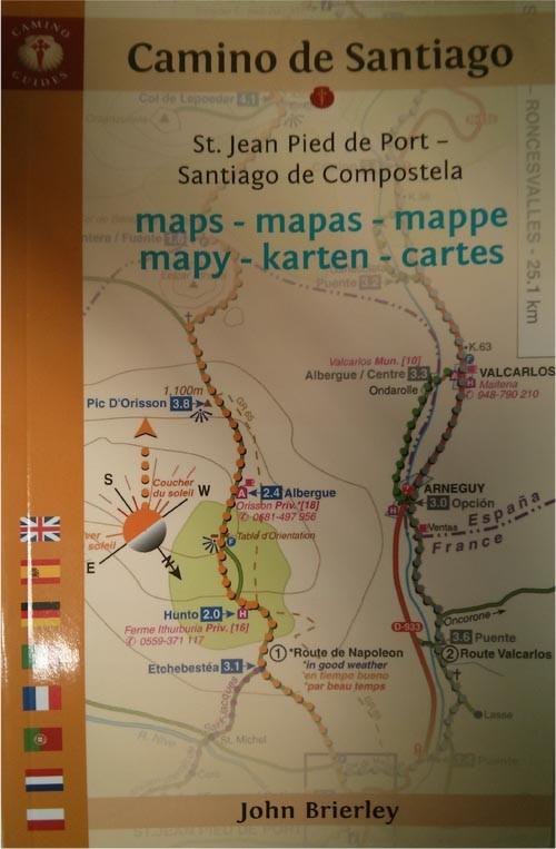 Maps-mapas-mappe-mapy Camino de Santiago