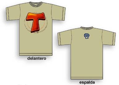Camiseta Tau