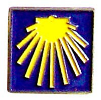 Pin de la estrella del Camino