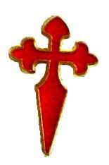 Pin de la Cruz de Santiago