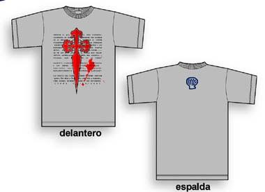 Camiseta Cruz de Santiago