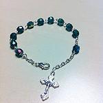 Pulsera rosario de un misterio