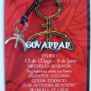 Colgante de acero Deidad Celta Govannan